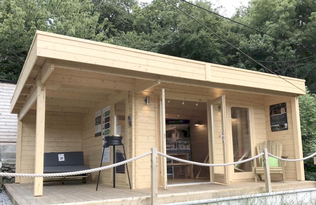 Ufficio In Giardino : Ufficio in giardino con la linea royal koala casette in legno