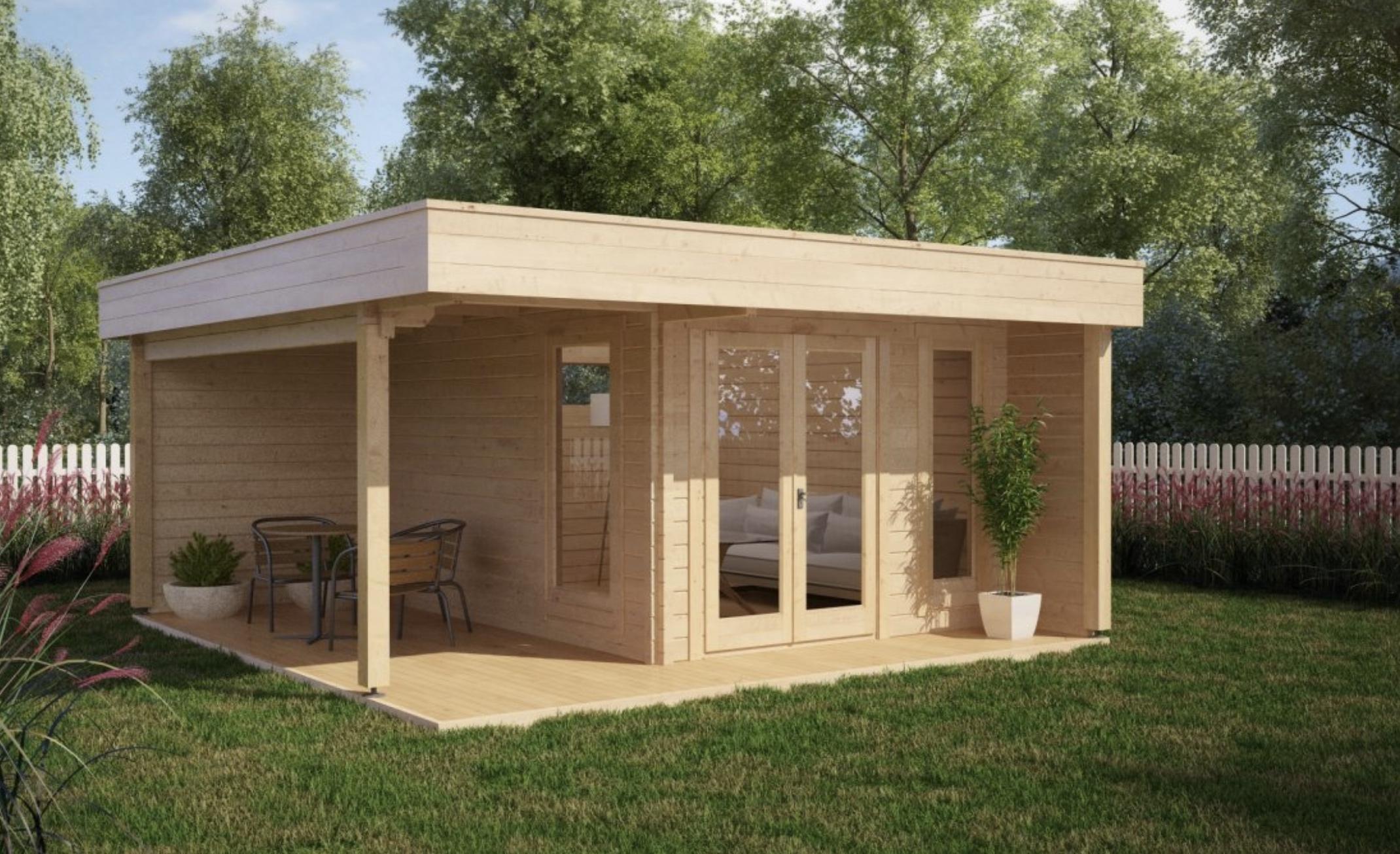 Casetta di legno castellobanfi 12 koala casette in for Bauhaus case in legno
