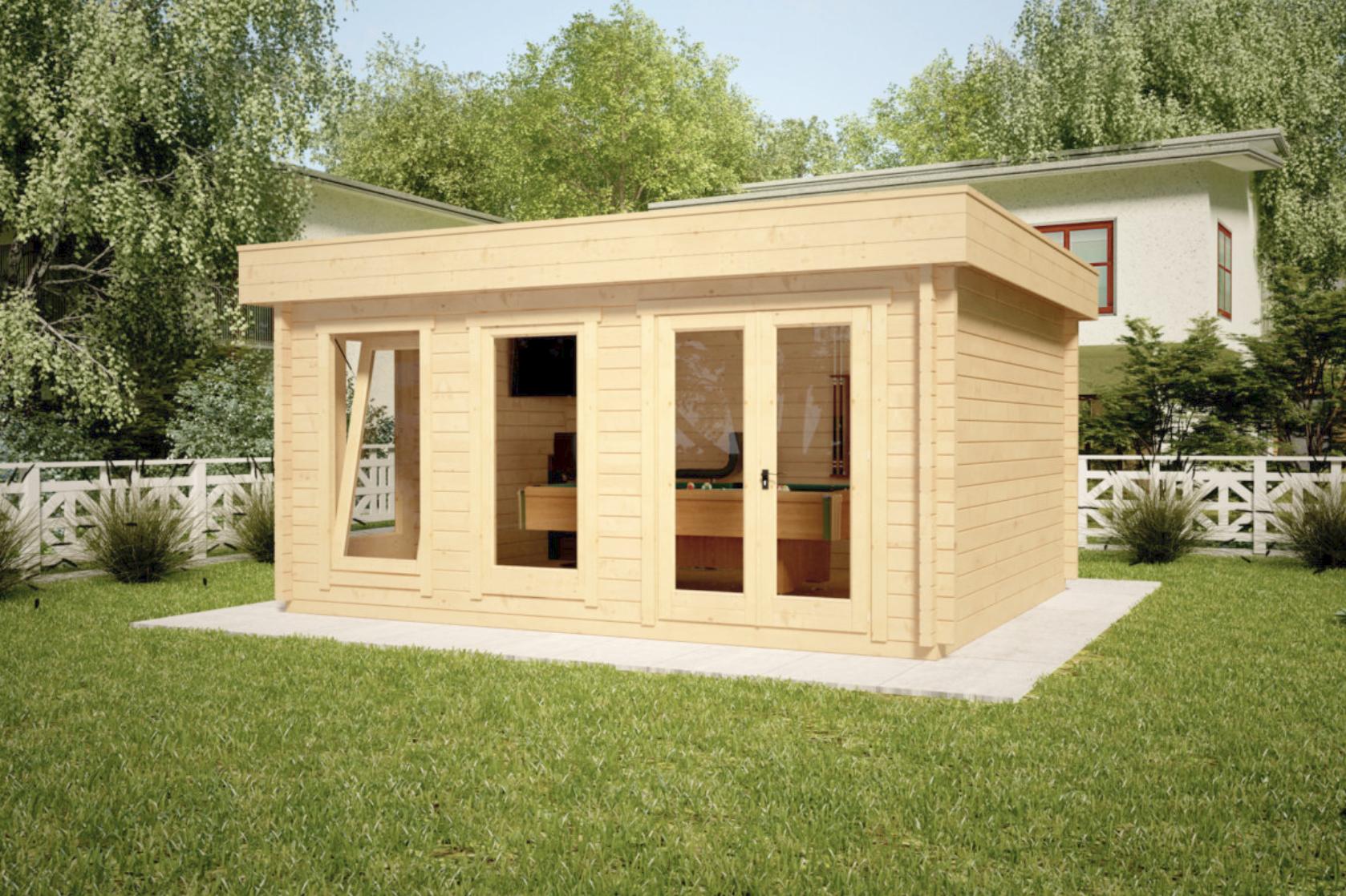 Casette di legno koala casette in legno di design - Casette legno giardino prezzi ...
