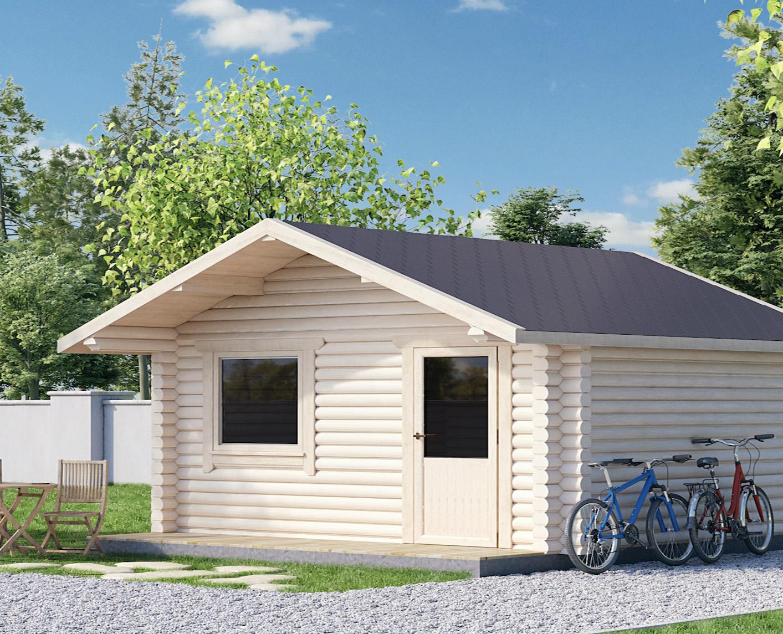 Casetta di legno campiglio 20 koala casette in legno di for Elevata progettazione di casette