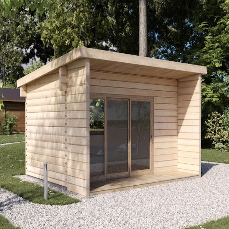 Casetta di legno loft 16 koala casette in legno di design for Premiato design di casette