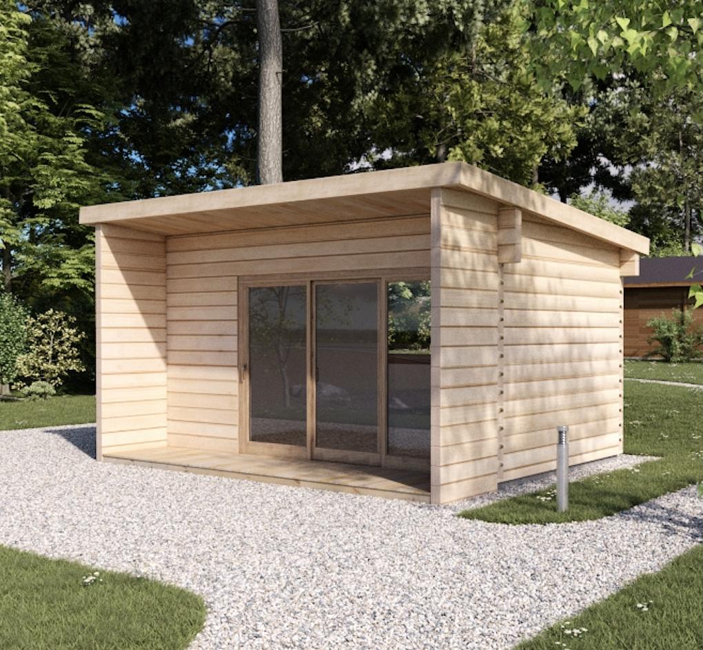 Casetta di legno loft 20 koala casette in legno di design for Premiato design di casette