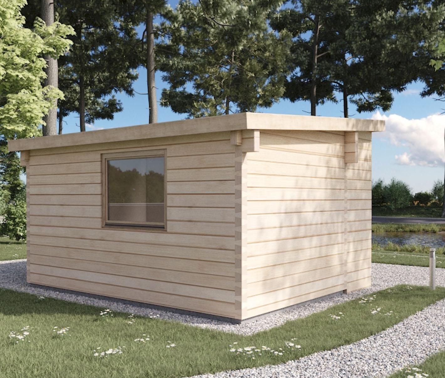 Casetta di legno loft 24 koala casette in legno di design for Premiato design di casette