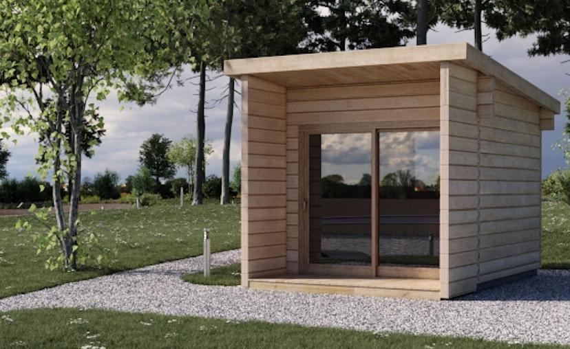 Casetta di legno loft su misura koala casette in legno for Elevata progettazione di casette
