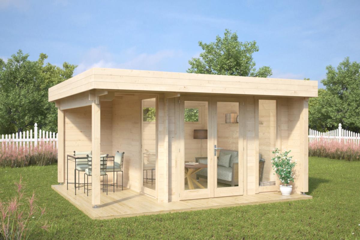 Royal koala casette in legno di design - Casette da giardino moderne ...