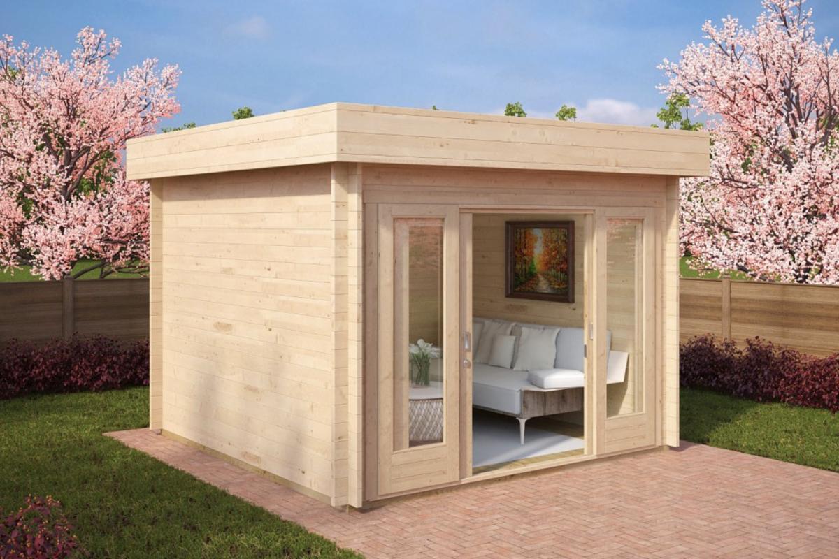Casetta In Giardino Permessi : Casetta di legno castellosvevo koala casette in legno di design