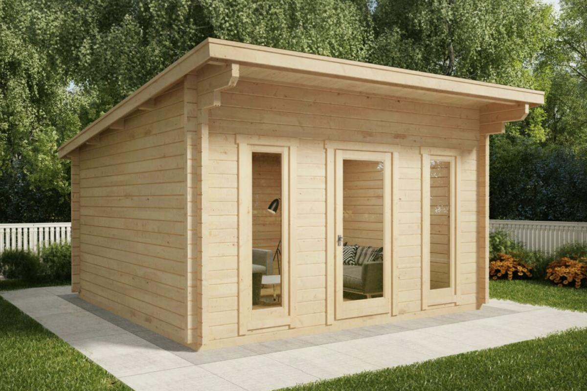 Royal koala casette in legno di design for Casetta di legno da giardino
