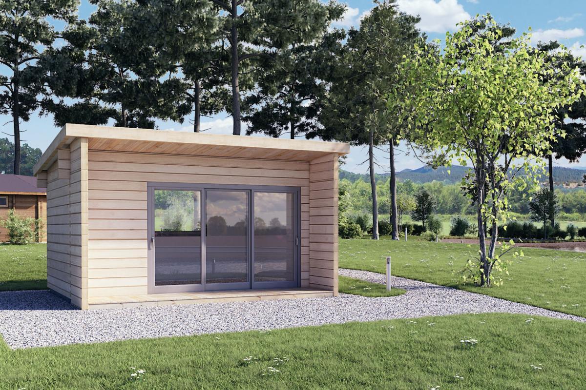 Ufficio Casetta Legno : Casetta di legno loft koala casette in legno di design
