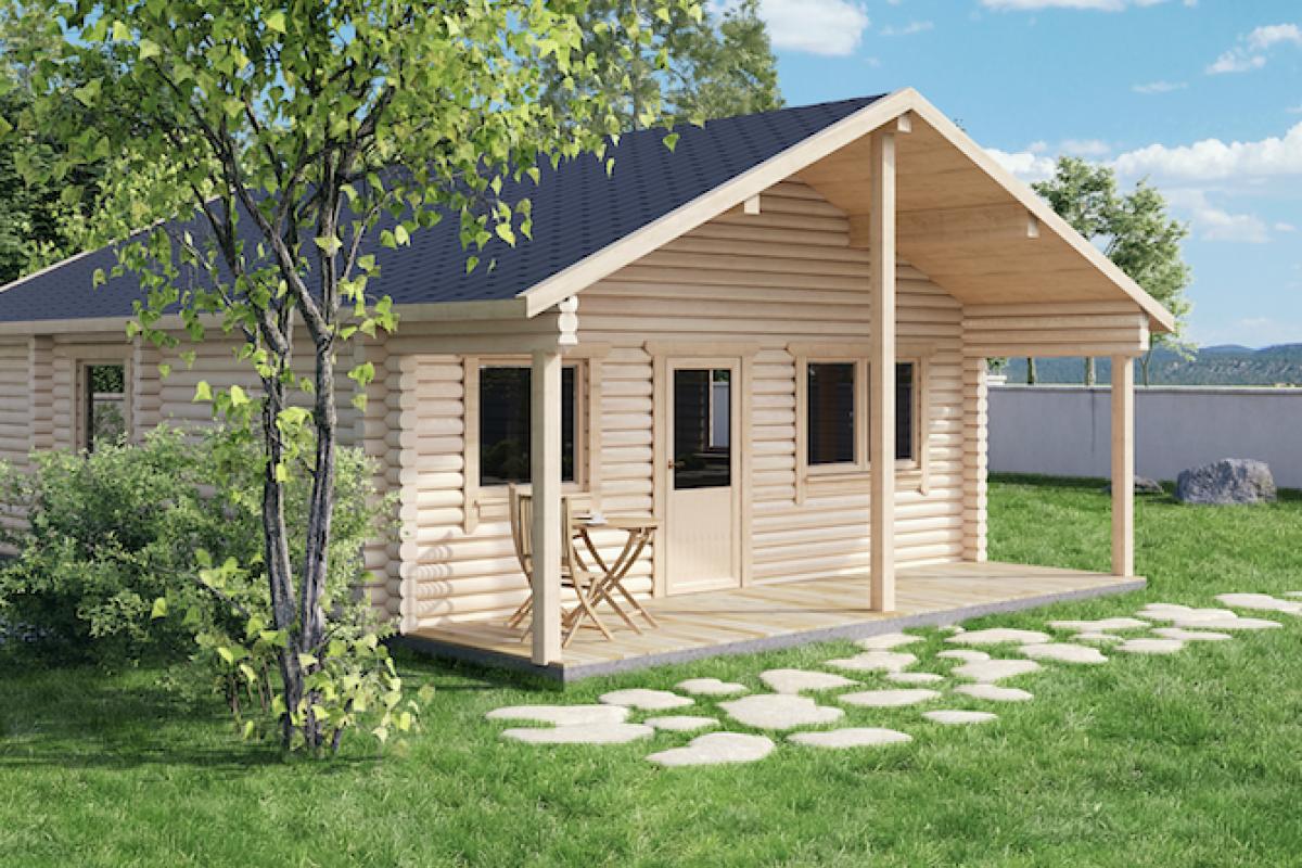 Casette di legno koala casette in legno di design for Casa in legno romania