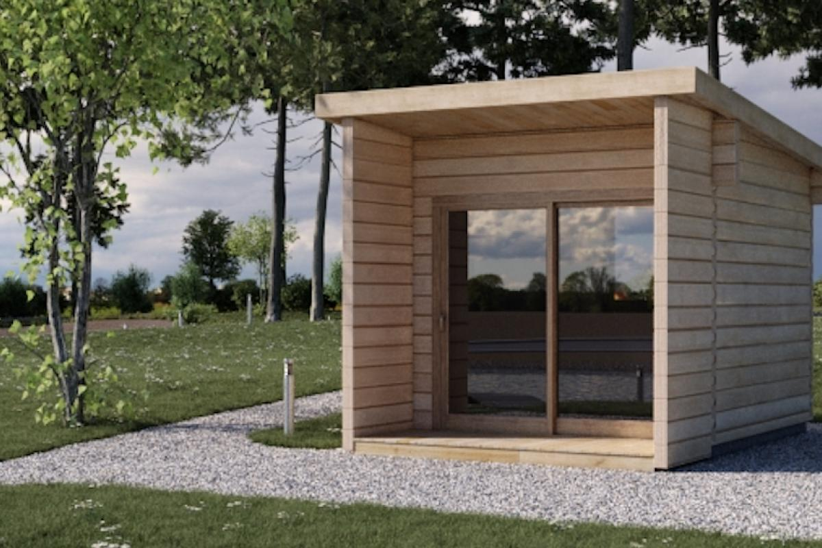 Design garden offices garden rooms and chalets koala: casette in