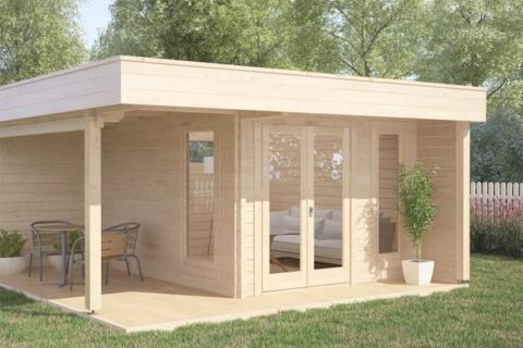 Casette Da Giardino Moderne : Casette legno design cheap offerta online casette da giardino